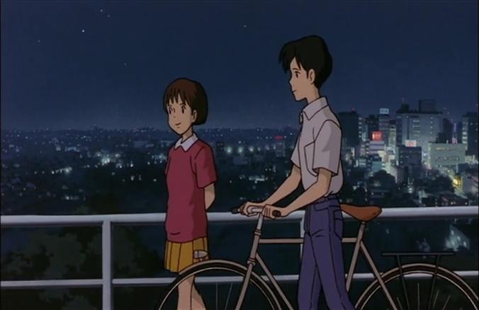 耳すま_自転車
