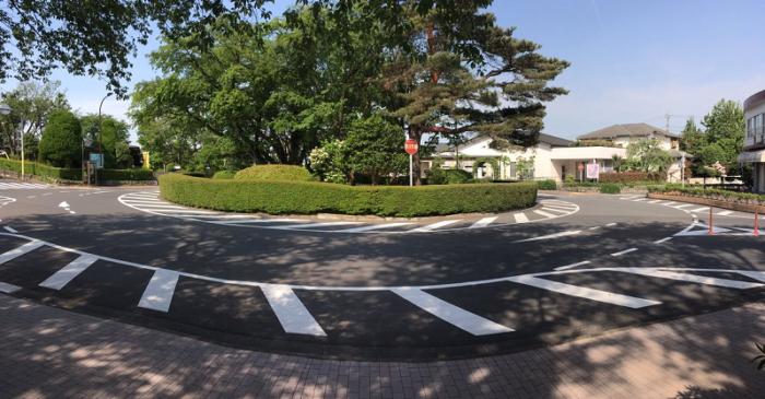 ロータリー_聖蹟桜ヶ丘